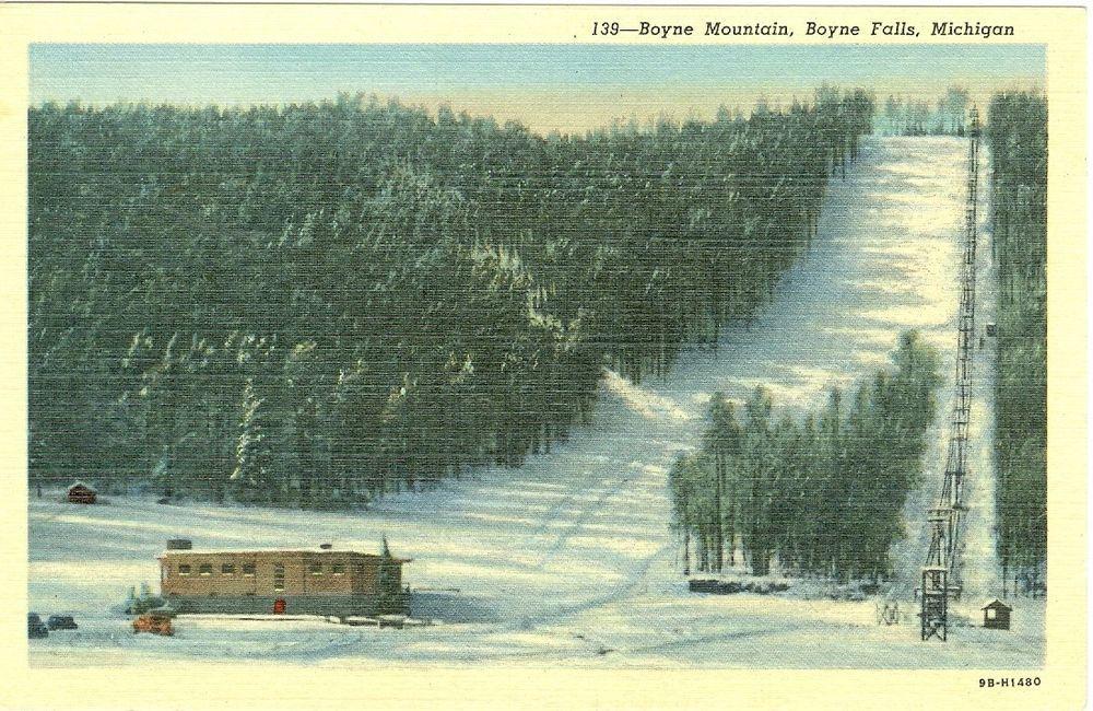 Boyne Falls, MI Ski Lift at Boyne Mountain Boyne falls