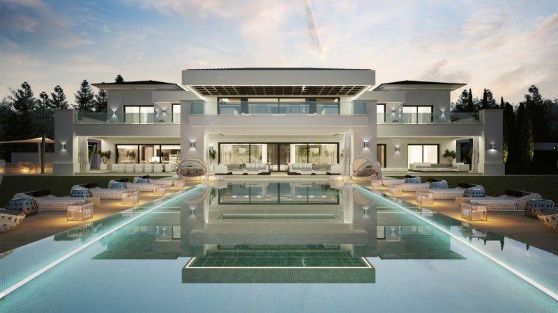 26 maisons de rêve avec piscine | piscines, maison fantaisiste et