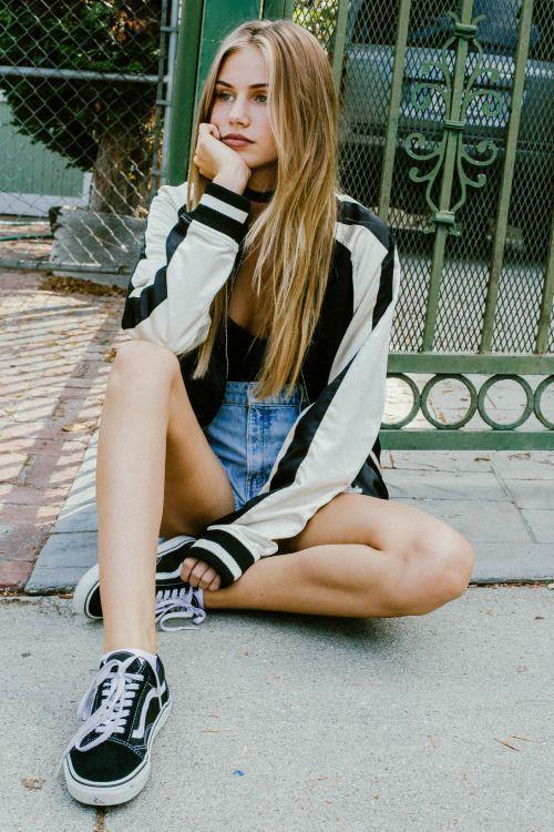 vans girl style