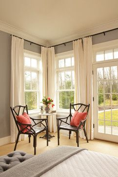 Curtain With Grey Wall Design Ideas Pictures Remodel And Decor Home Home Decor Interior Design