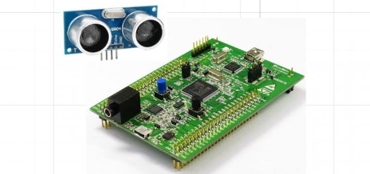 STM32F4 Discovery HC-SR04 Mesafe Ölçer Uygulaması | STM32F4