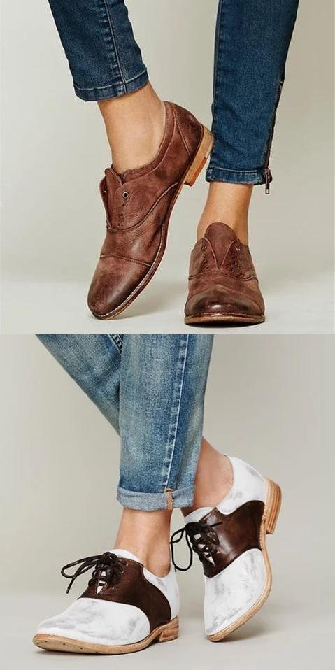 jusqu'à oxfords chaussures chaussures!la livraison gratuite!boutique!  chaussures oxfords femmes 5c47ed