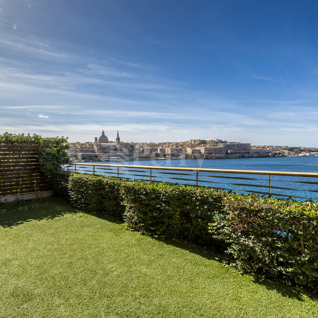 Malta - Seafront Apartment at Tigne Point in Sliema facing ...