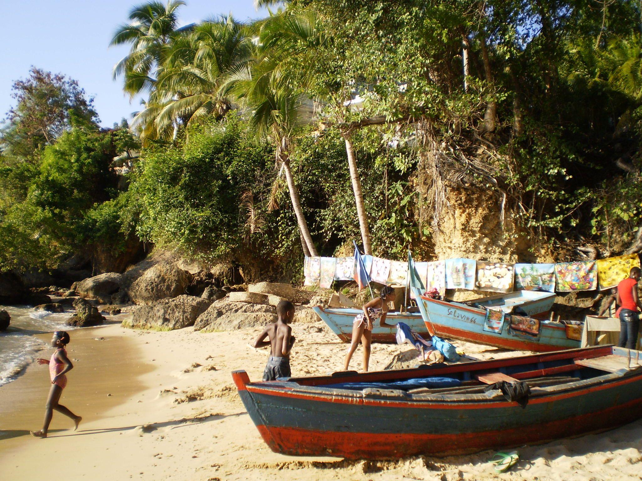 One Haitian entrepreneur takes advantage of tourism on