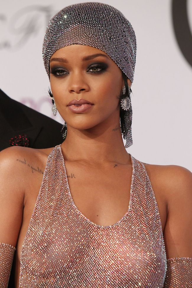 cfda fashion awards 2014 rihanna inspiro make up
