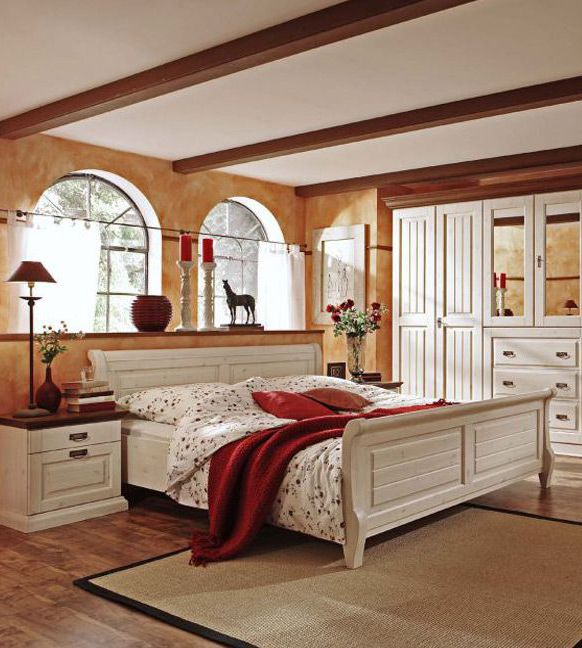 elegantes schlafzimmer malta dieses romantische schlafzimmer im landhausstil l dt zum. Black Bedroom Furniture Sets. Home Design Ideas