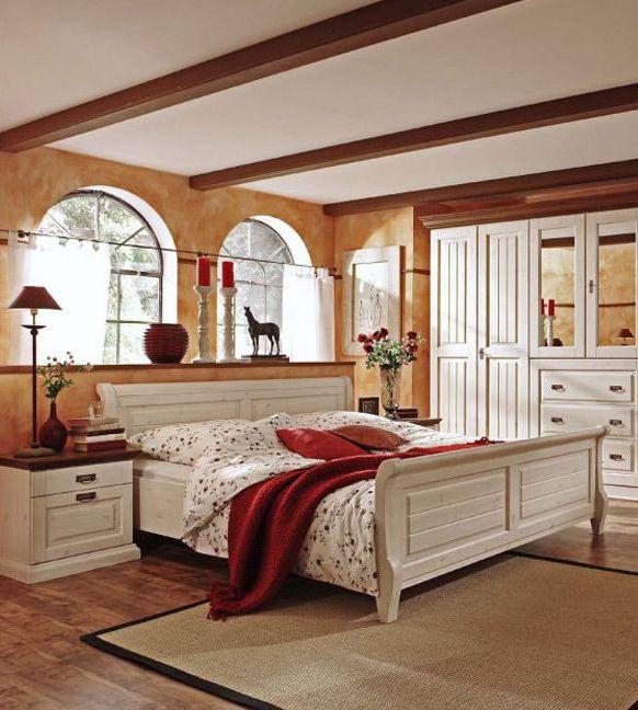 elegantes Schlafzimmer Malta  Dieses romantische Schlafzimmer im Landhausstil ldt zum