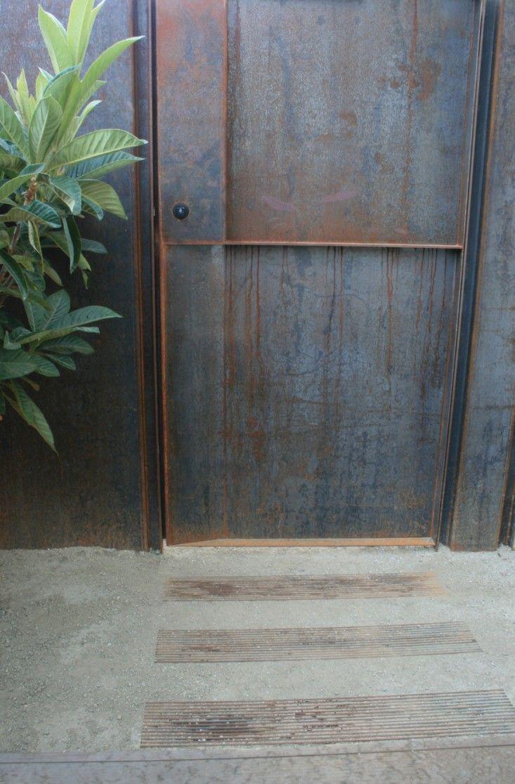 Badesign Best Edible Garden Corten Steel Gate Metal Door Corten Steel Corten