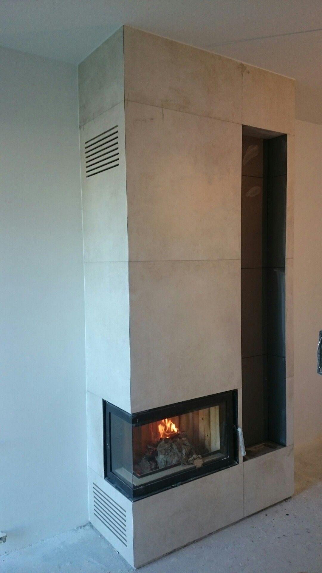 Kominek Narozny Z Wneka Na Drewno Swmm Op Pl Home Fireplace House Extension Design Indoor Fireplace