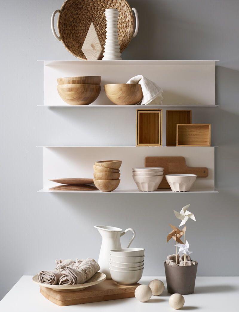 10 cuisines avec des tag res ouvertes interiors pinterest ikea shelves et kitchen. Black Bedroom Furniture Sets. Home Design Ideas