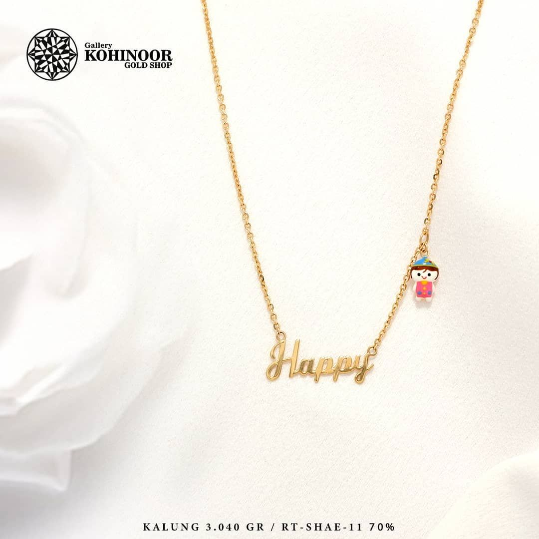 15+ Trend Terbaru Model Perhiasan Emas Kalung