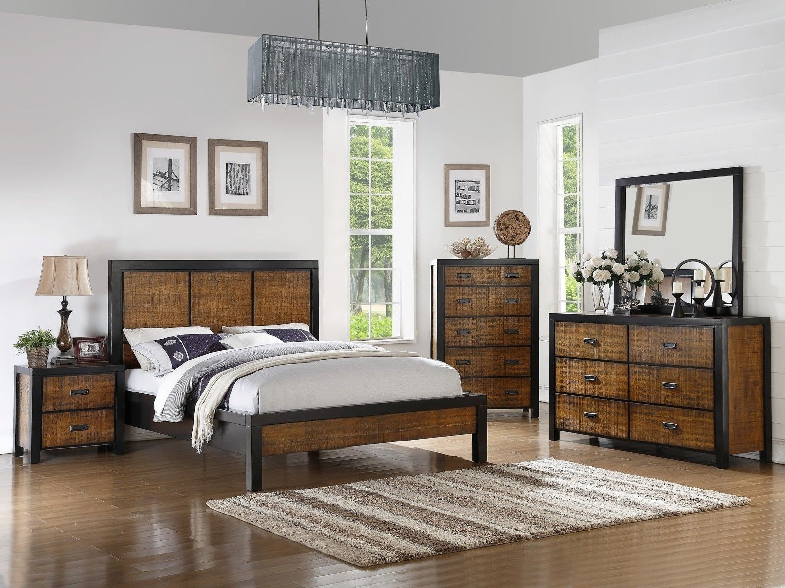 Master bedroom headboard  Master Bedroom Queen Cal King Est King Bed Casual Headboard