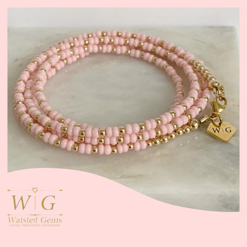 how to make waist beads smaller