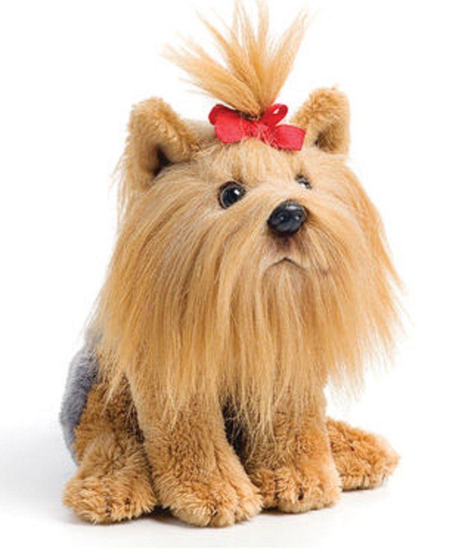 DEMDACO Little Chocolate Labrador Childrens Plush Beanbag Stuffed Animal Toy