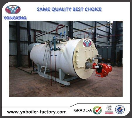2000kg H Laundry Used Fire Tube Natural Gas Steam Boiler Price