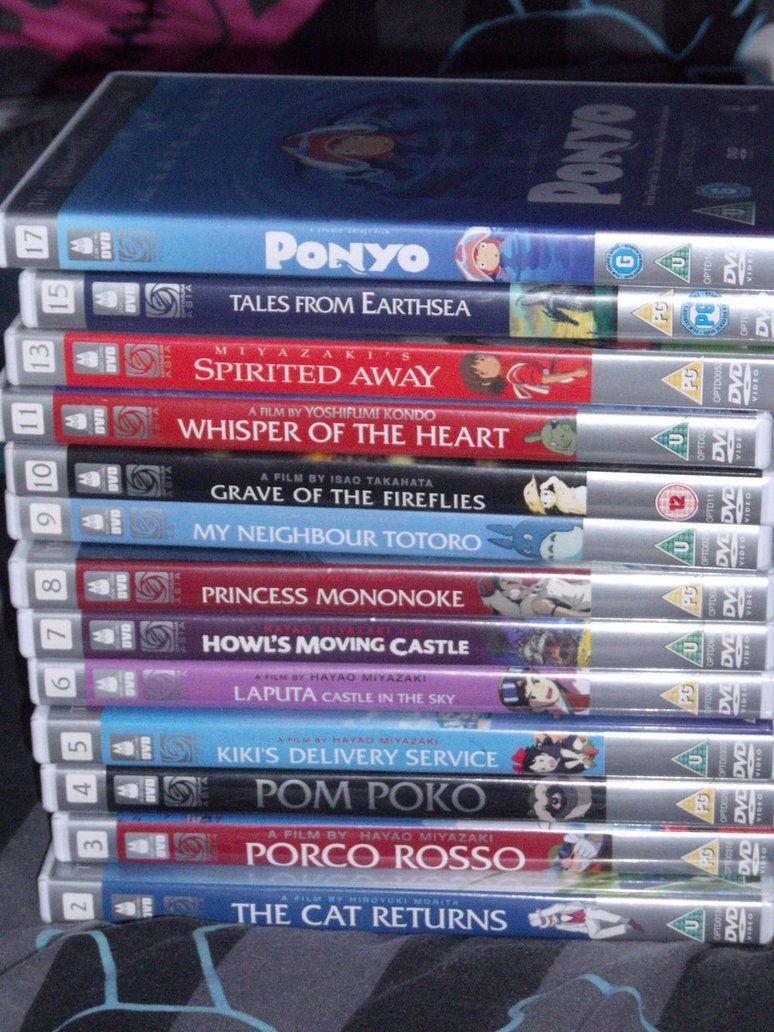collection Blue-Ray / DVD Studio Ghibli