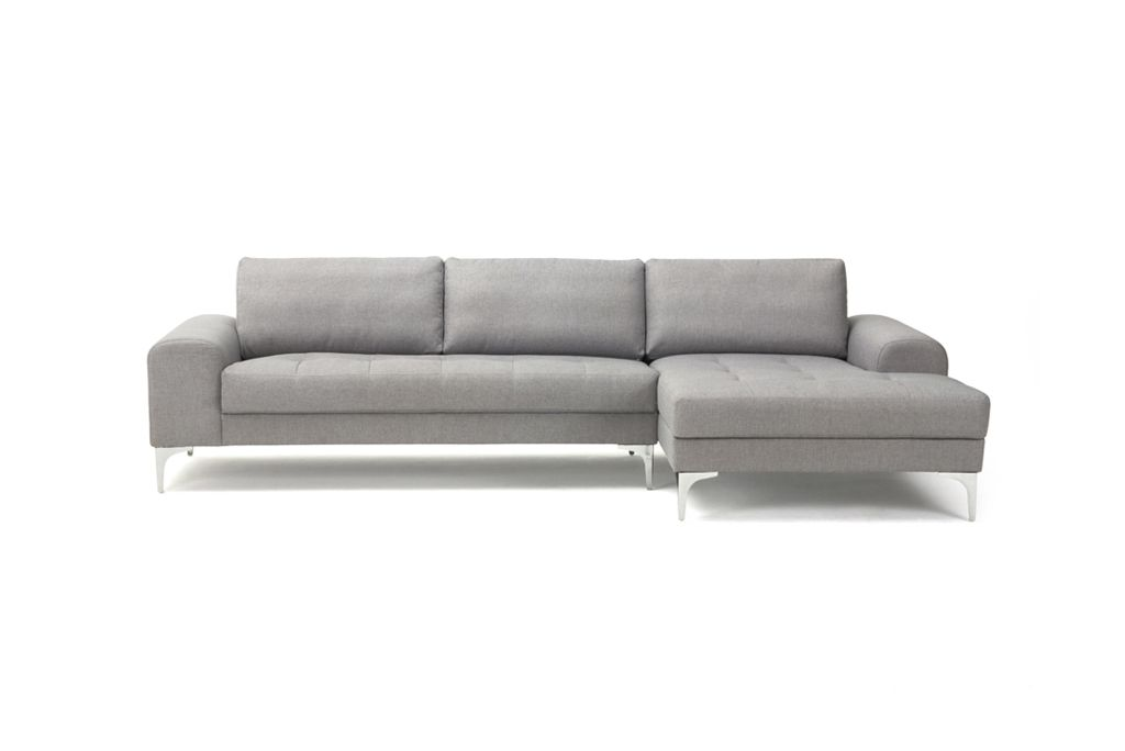 Charlie 3 seater sofa med chaiselong vendy cool grey til for U sofa med chaiselong