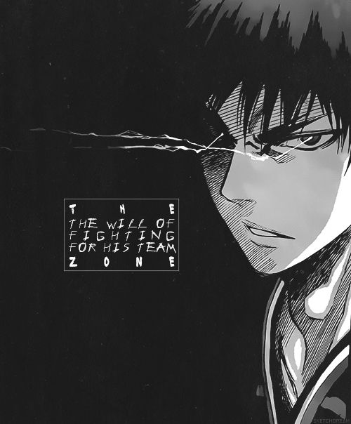the will of fighting for his team the zone taiga kagami