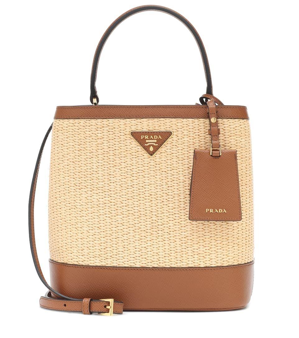 eb8acf70f366 Panier Medium straw shoulder bag in 2019   Wishlist   Bags, Shoulder ...