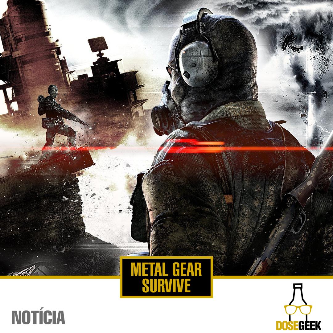 Novo Jogo Da Franquia Metal Gear Veja Como Sera O Jogo Produzido Pela Konami Metalgear Solid Snake Zumbi Acao Fps Tiro Metal Gear Metal Franquias