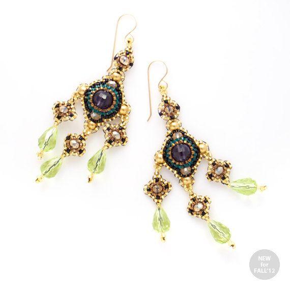 Spanish Condesa Chandelier Earrings By Jeannierichard