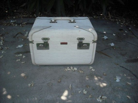 Vintage Travelaire Luggage Custom Made Train Case