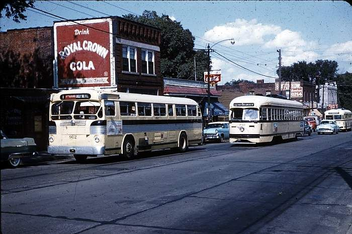 KC TWIN BUS,PCC AND TROLLEY COACH
