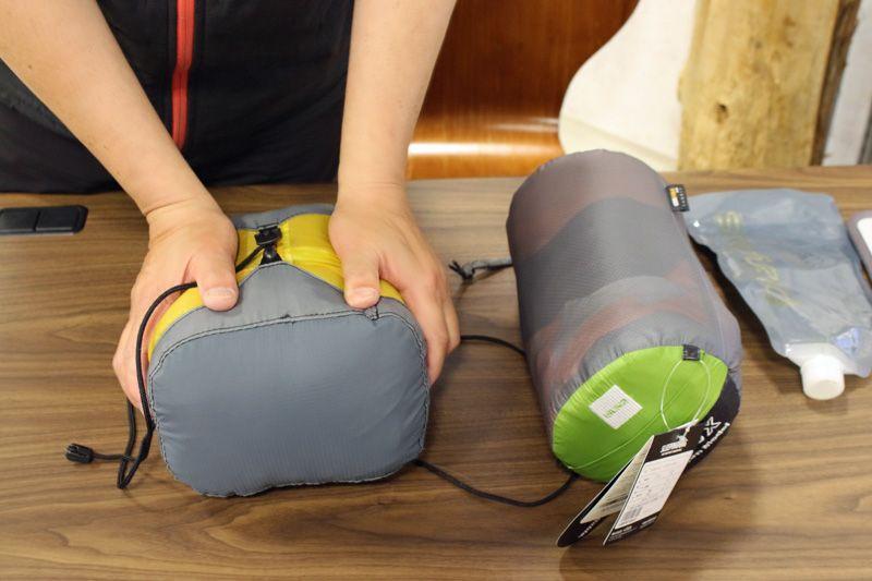 テントマット 寝袋は工夫次第で大幅に軽量化が可能 1泊2日テント泊登山の軽量化の秘訣を山岳マラソンに学ぶ Yamaya ヤマケイオンライン 山と渓谷社 テント マット テント 寝袋