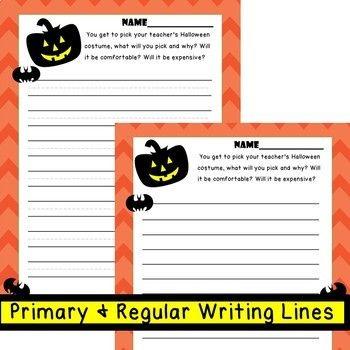 10 FUN Halloween Writing Prompts Halloween writing prompts - halloween writing ideas