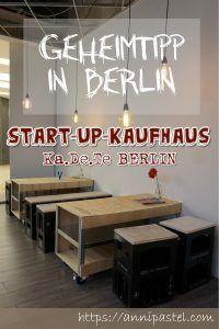 Das-Start-Up-Kaufhaus Berlin - Im KaDeTe neue Produkte testen