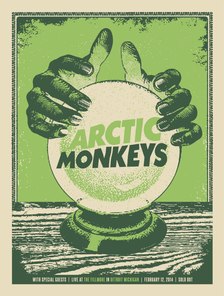 North America tour poster, 2014