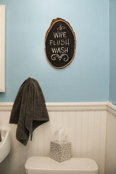 Barkboard Rustic Chalkboard | DIY | DIY Home Decor