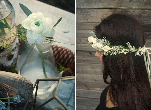 Industrial winter wedding inspiration#handfasting #wedding #winter