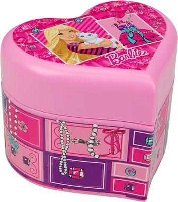 barbieheartshapedmusicalgirlsjewelrybox Barbie Pinterest
