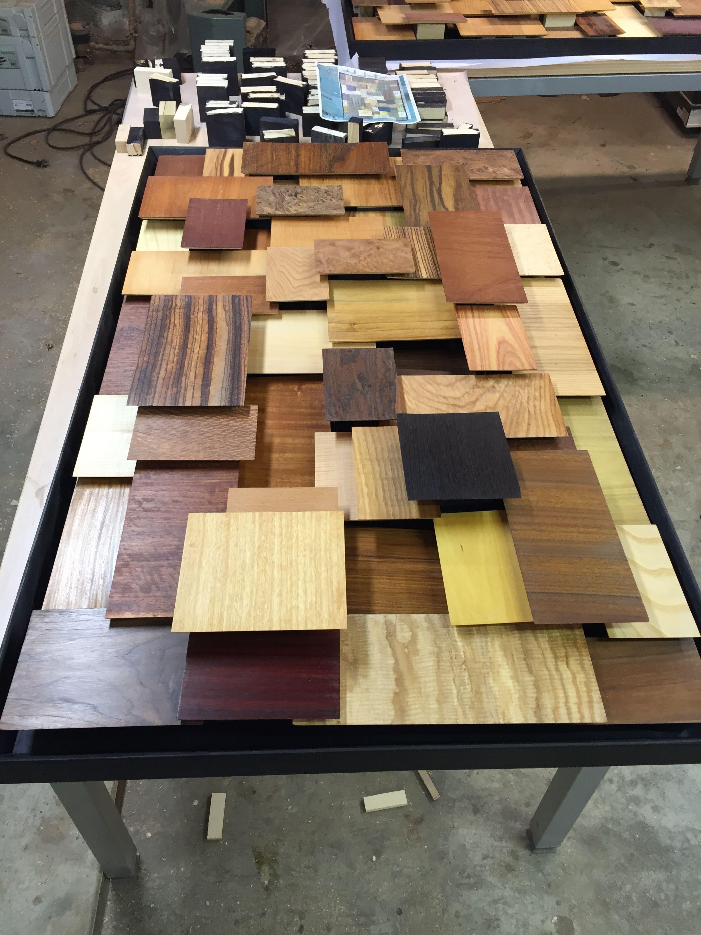 100 Trees A Display Of Wood Veneers Reader S Gallery Fine Woodworking Wood Wall Design Diy Decor Woodworking [ 3264 x 2448 Pixel ]