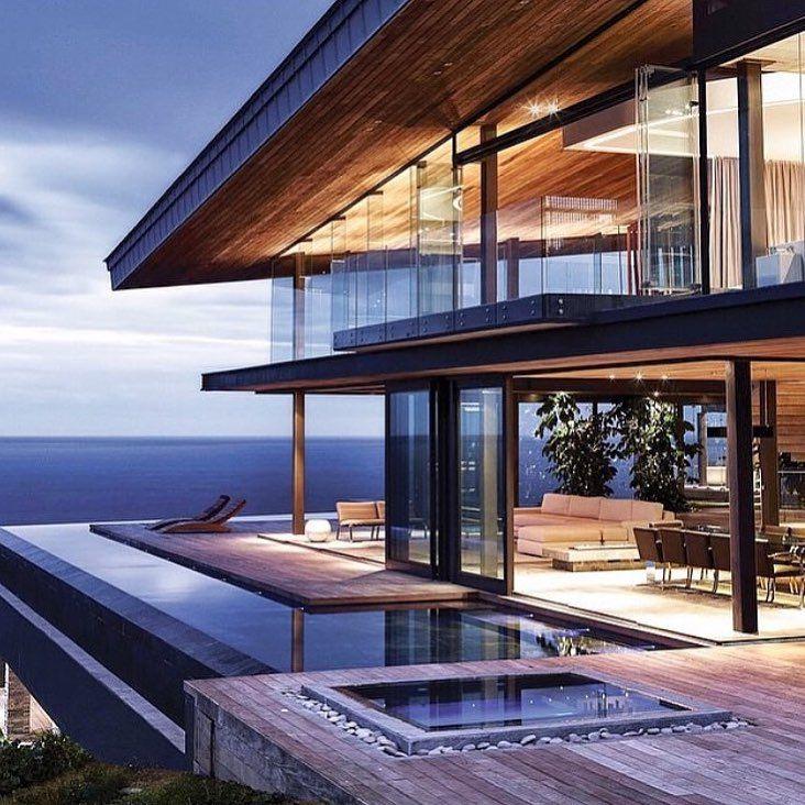 Modern Luxury Home In Architectural Design In Australia: Modern Luxury Home In South Africa #goals #luxurylifestyle
