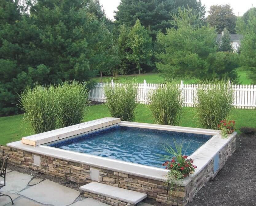 Plunge Pools What Is A Plunge Pool Small Backyard Pools