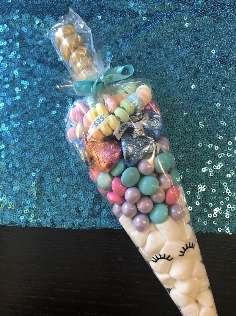 Unicorn Candy Cones Set of 24Unicorn Goody Bag Unicorn Party | Etsy