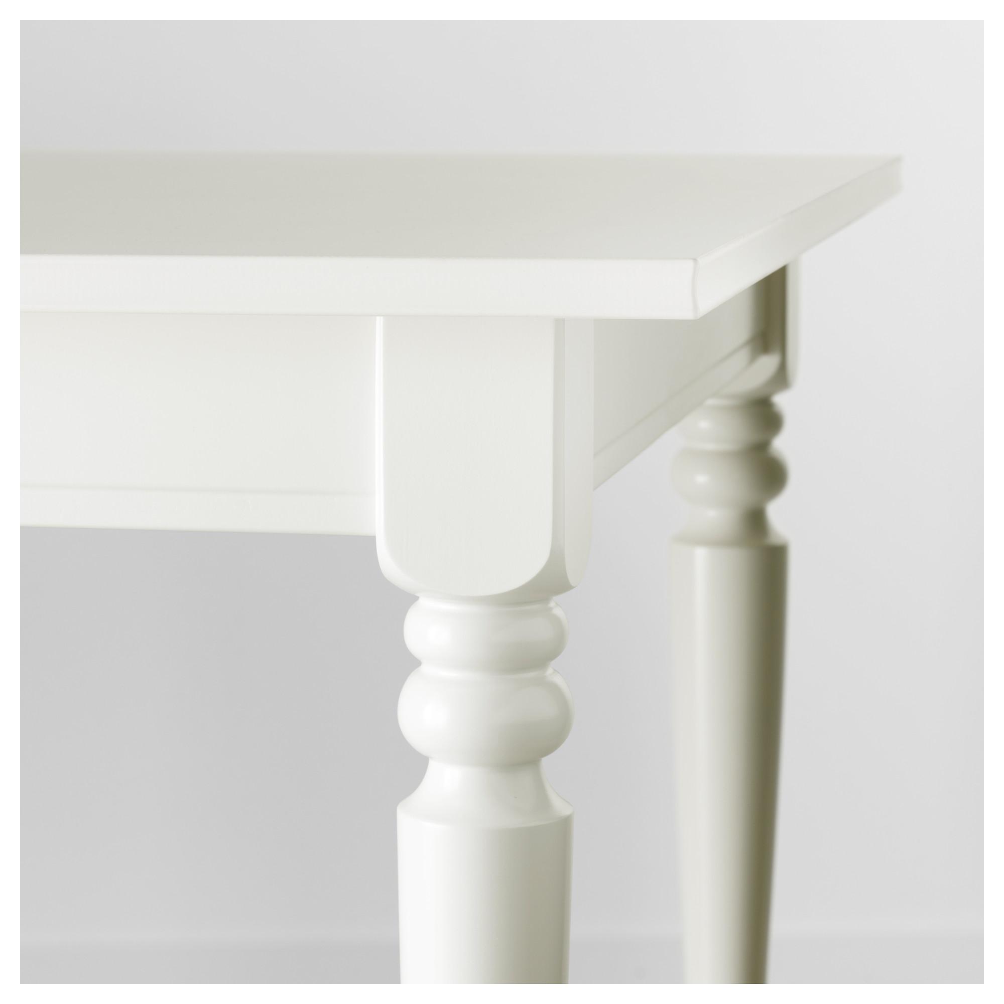 INGATORP Extendable table White IKEA | Home | Pinterest | Tavolo ...