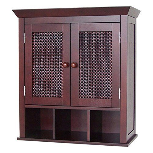 45+ Espresso bathroom wall cabinet custom