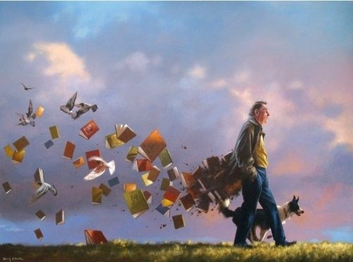 Fomentando la lectura (ilustración de Jimmy Lawlor)