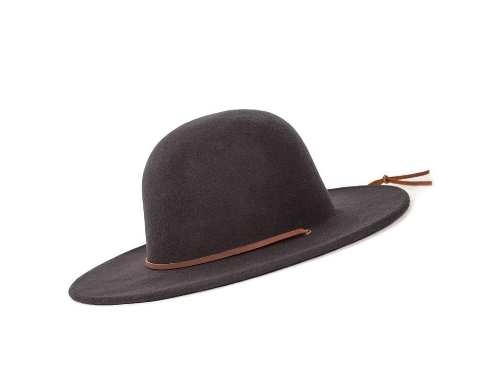 7505d1f8213 Brixton Men s Tiller Wide Brim Felt Fedora Hat Black Large - NO TAX (eBay  Link)