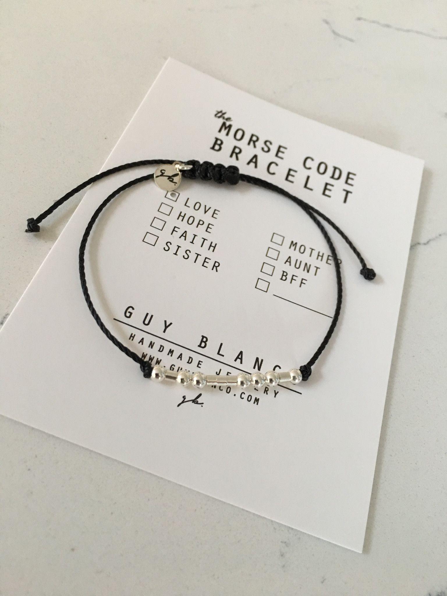 Park Art|My WordPress Blog_Morse Code I Love You Bead Bracelet