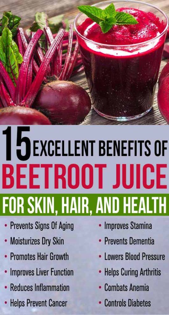 15 Excellent Benefits of Beetroot Juice For Skin Hair ...