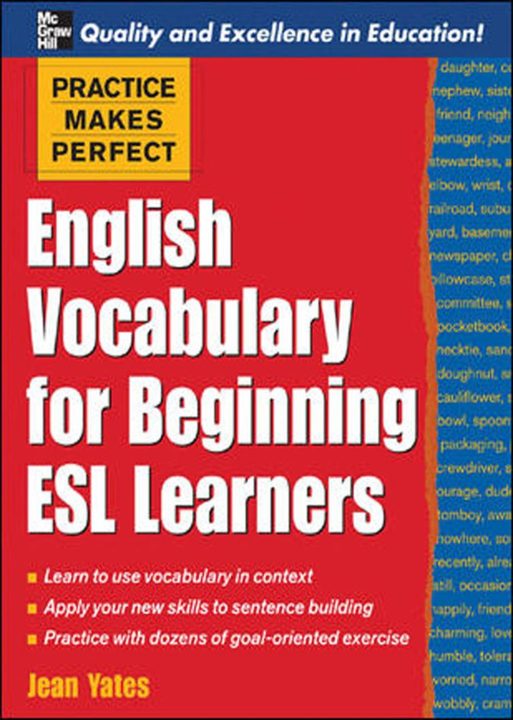 Practice Makes Perfect English Vocabulary For Beginning