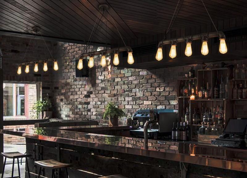 Un dise o perfecto para bares decorados con estilo retro o industriales bar bunny - Diseno de bares ...