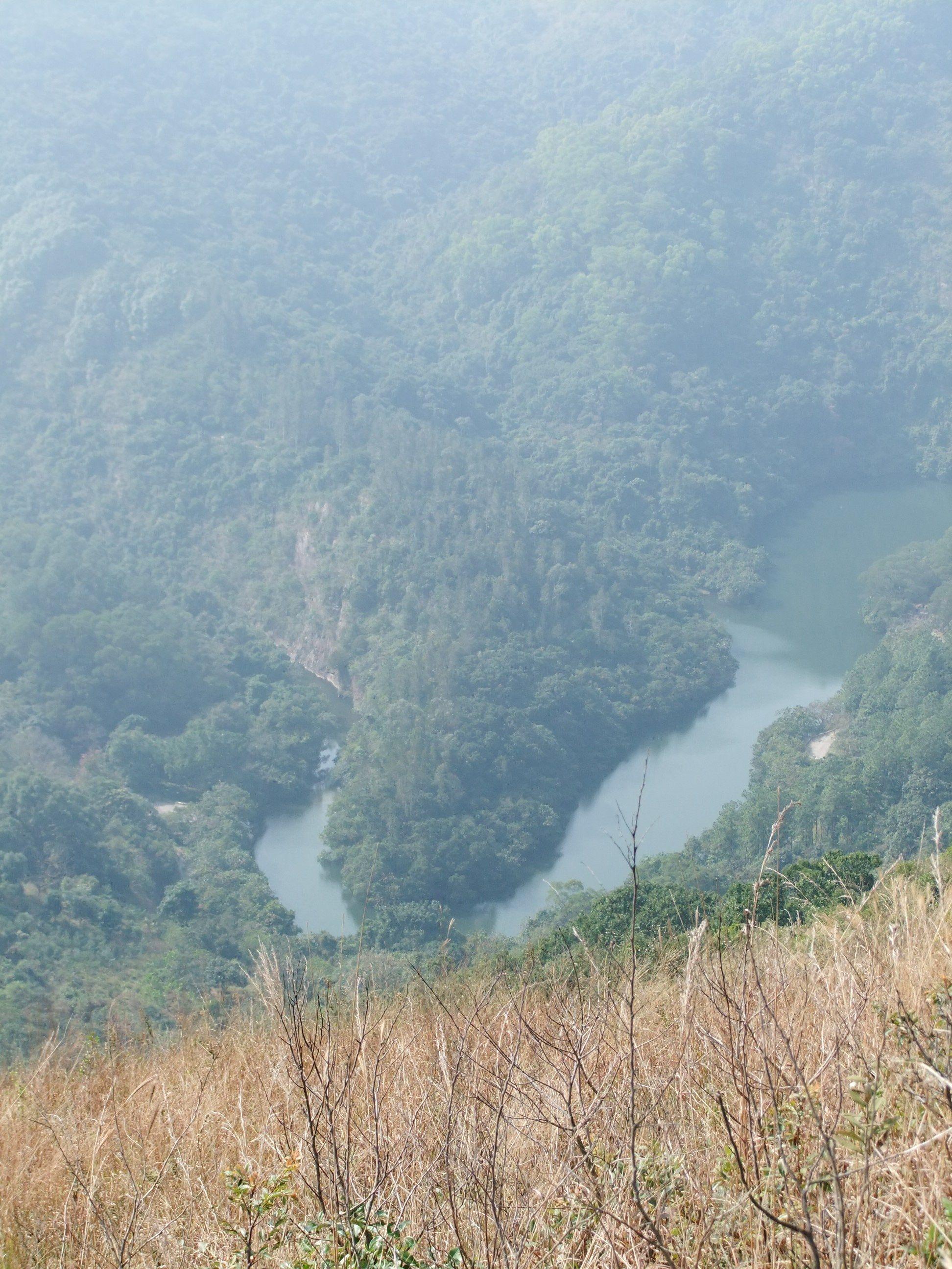 Hike in Autumn - near Hok Tau Lau Shui Heung in New Territories