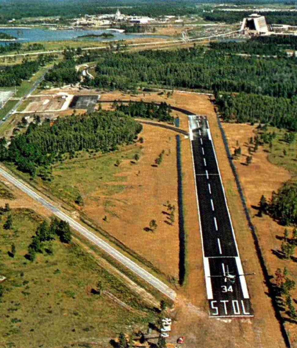 The Abandoned Walt Disney World Airport