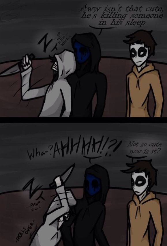 Jeff Eyeless Jack And Masky Many Fandoms Creepypasta Jeff The