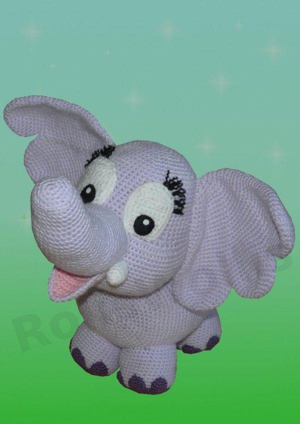 Elfi der Elefant XXL, Häkelanleitung | Häkeln / Crochet | Pinterest ...